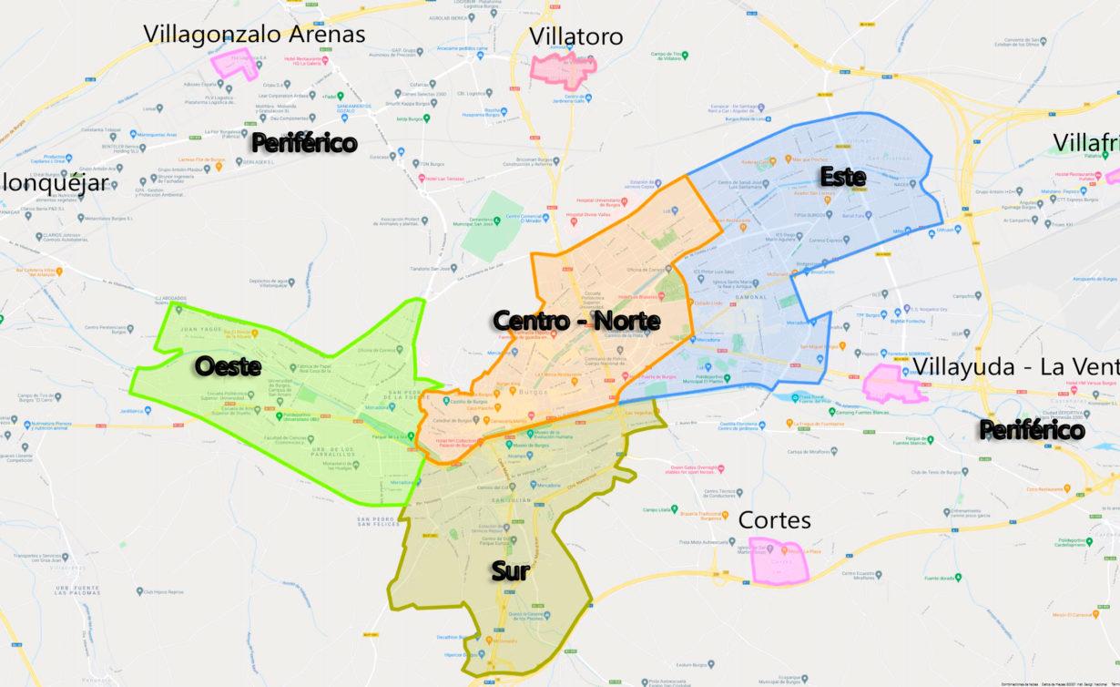 Distritos-Burgos
